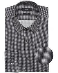 BOSS by Hugo Boss Slim Fit Jango Shirt - Gris