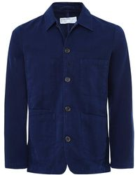 Universal Works - Cotton Canvas Bakers Jacket - Lyst