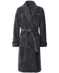 GANT Organic Cotton Premium Robe - Gray