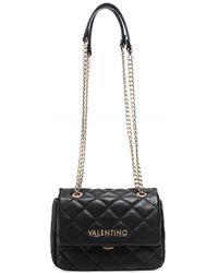 Valentino By Mario Valentino Ocarina Quilted Shoulder Bag - Noir