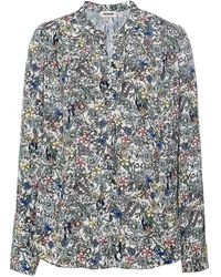 Zadig & Voltaire Tink Crinkle Floral Tunic - Multicolor
