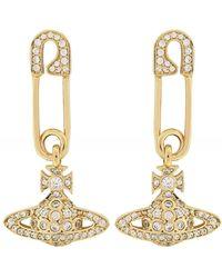 Vivienne Westwood Lucrece Earrings - Métallisé