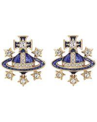 Vivienne Westwood Dalila Earrings - Metallic