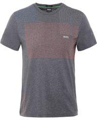 BOSS Green - Crew Neck Tee 4 T-shirt - Lyst