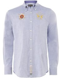 La Martina - Regular Fit Oxford Vito Shirt - Lyst