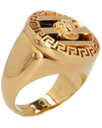 Versace - 'medusa' Ring - Lyst