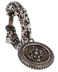 Alexander McQueen Orecchino singolo pendente - Metallizzato