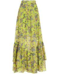 Twin Set 'indian Flower' Skirt - Multicolour