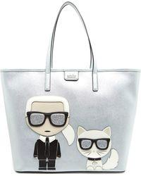 Karl Lagerfeld - K/ikonik Shopper Bag - Lyst