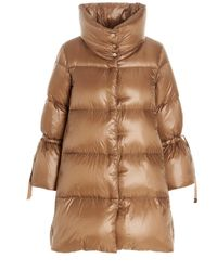 Herno Over Down Jacket - Brown
