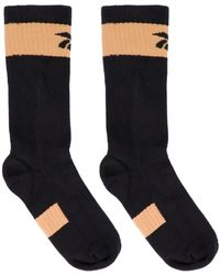 Reebok X Victoria Beckham 'rbk Vb Folded' Socks - Black