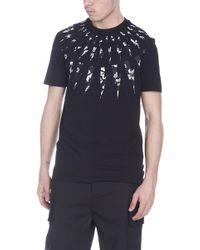 Neil Barrett - T-shirt 'Anemone' - Lyst