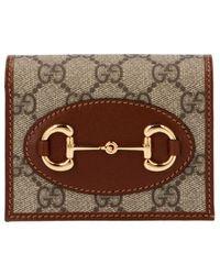 Gucci - ' 1955 Horsebit' Wallet - Lyst