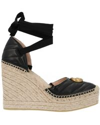 Gucci 'palmyra' Wedge - Black