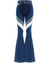 Gcds 'heart' Jeans - Blue