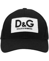 Dolce & Gabbana Cappellino logo - Nero