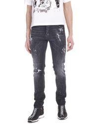 f2589a28ca4 Lyst - DSquared² Cool Guy Black Wask Denim in Black for Men