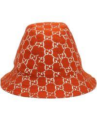 Gucci Bucket hat 'Desert' - Marrone
