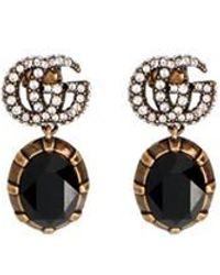 Gucci 'GG' Dangling Earrings - Metallic