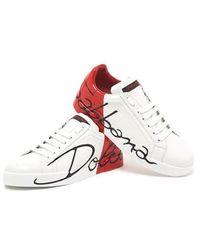 Dolce & Gabbana 'portofino' Trainers - White