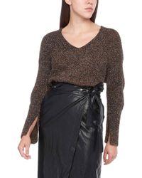 Nude - Lurex Sweater - Lyst