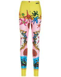 Versace All-over Print leggings - Multicolour