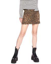 R13 - Animalier Skirt - Lyst