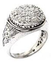 GIACOMOBURRONI 925 Silver Ring - Metallic