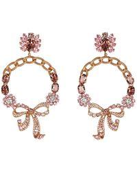 Dolce & Gabbana Hoop Earrings - Metallic