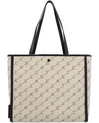 Stella McCartney - 'the Logo Bag' Tote - Lyst