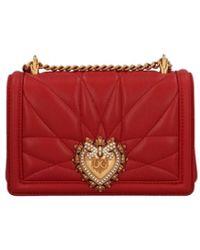 Dolce & Gabbana - 'devotion' Small Crossbody Bag. - Lyst