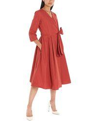 Weekend by Maxmara - Red Polyamide Dress - Lyst