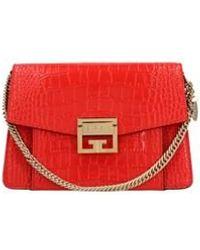 Givenchy Small Gv3 Crossbody Bag - Red