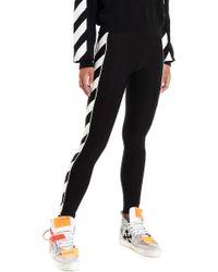 Off-White c/o Virgil Abloh Logo leggings - Black