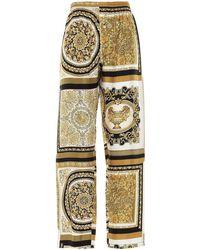Versace Pantalone 'Barocco' - Multicolore