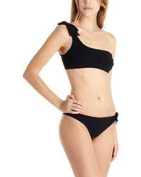 Zimmermann 'zinnia Bow' Bikini - Black