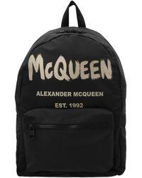 Alexander McQueen 'metropolitan' Backpack - Black