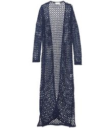 Snobby Sheep Net Sequins Cardigan - Blue