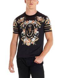 Dolce & Gabbana T-shirt stampa floreale - Nero