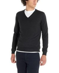 Zanone Flexwool Sweater - Gray