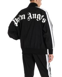 Palm Angels Felpa logo - Nero
