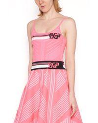 Prada Logo Top - Pink