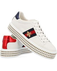 Gucci Sneaker 'New ace' - Bianco