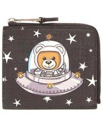 Moschino - 'teddy Ufo' Wallet - Lyst