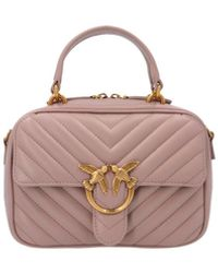 Pinko 'love Mini Square' Handbag - Multicolor