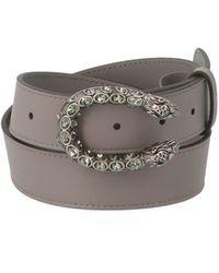 Gucci 'dionysus' Belt - Gray