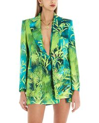 Versace 'jungle' Blazer - Green