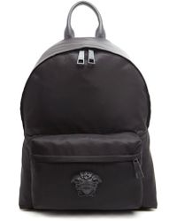 Versace Medusa Backpack - Black