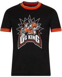 Dolce & Gabbana - T-shirt 'Dg king' - Lyst