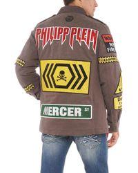 Philipp Plein - 'warning' Jacket - Lyst